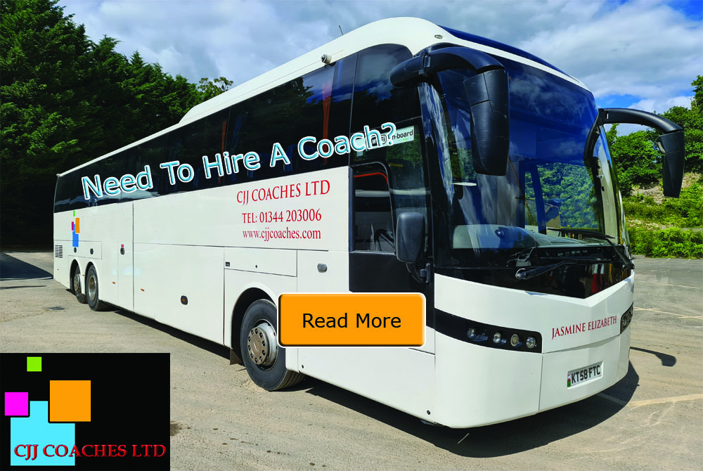 CJJ Coaches - Coach Services from Bracknell